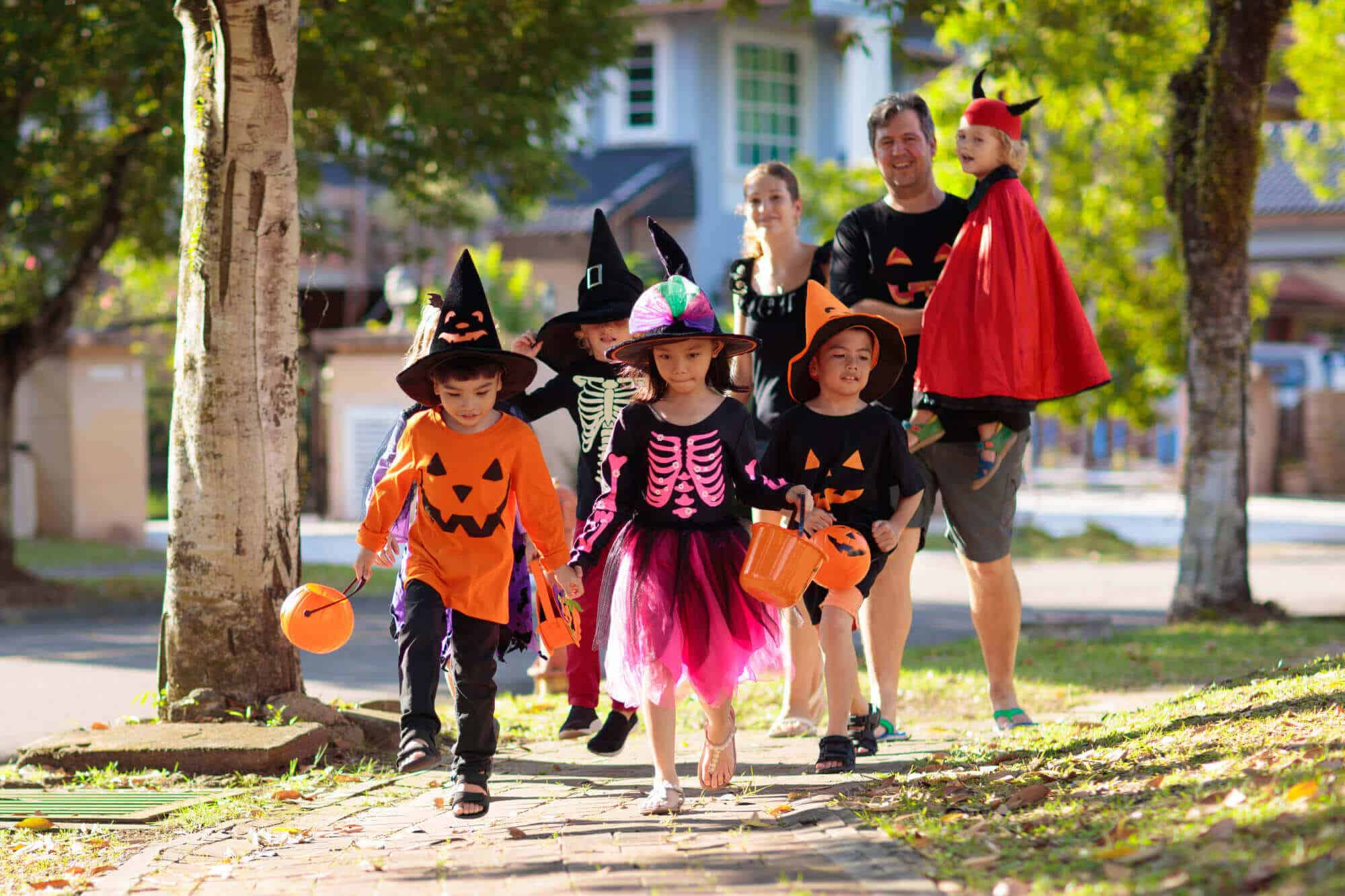 Halloween Safety Tips Kids Frase Protection