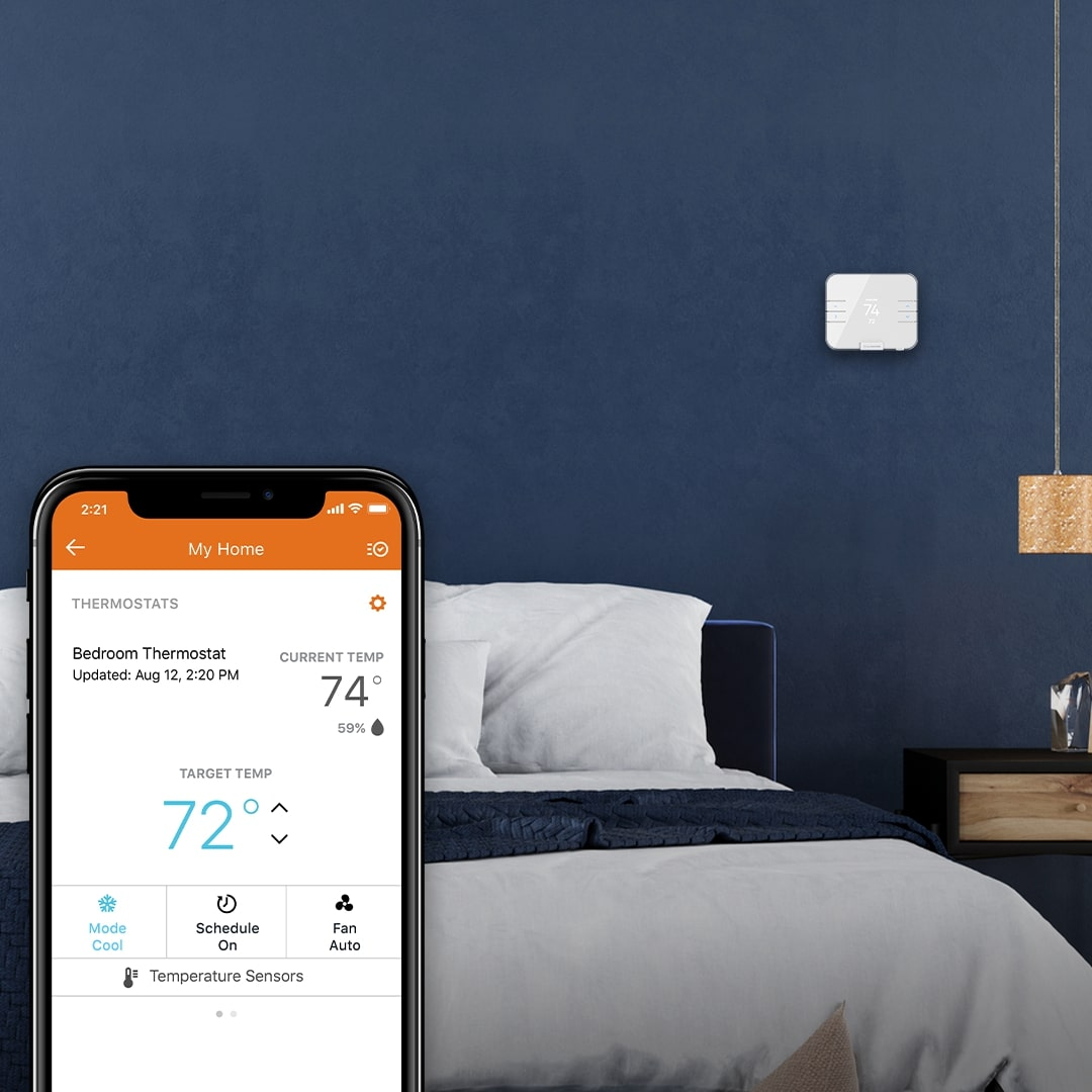 Smart Home Security System Buying Guide - Smart Thermostat