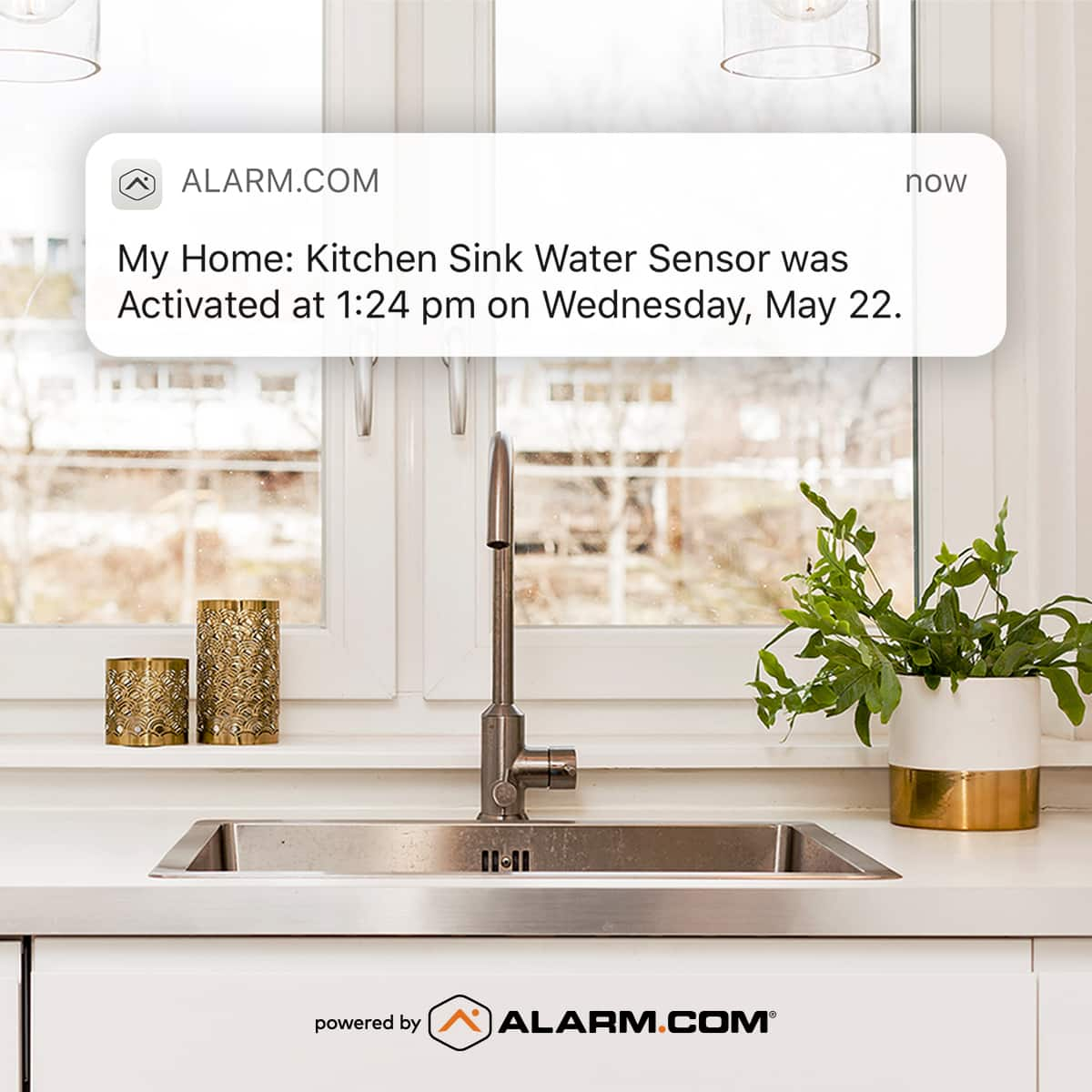 Smart Home Security System Buying Guide - Smart Water Sensor